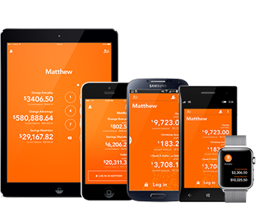 ING app on mobile devices